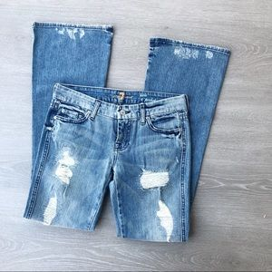 7 For All Mankind Lexie A Pocket Distressed